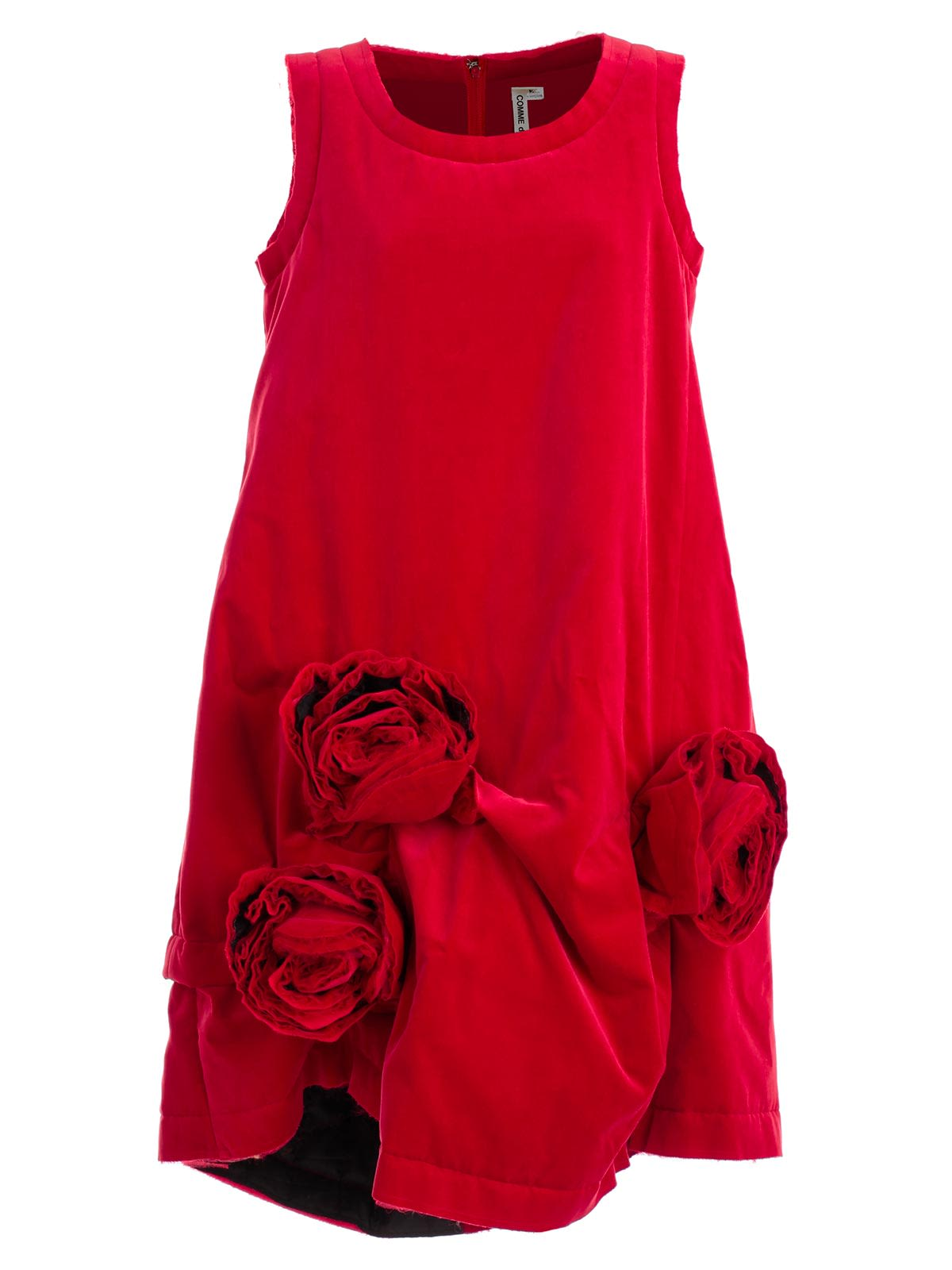Comme Des Garçons COMME DES GARÇONS CORSAGE FLARED SHIFT DRESS
