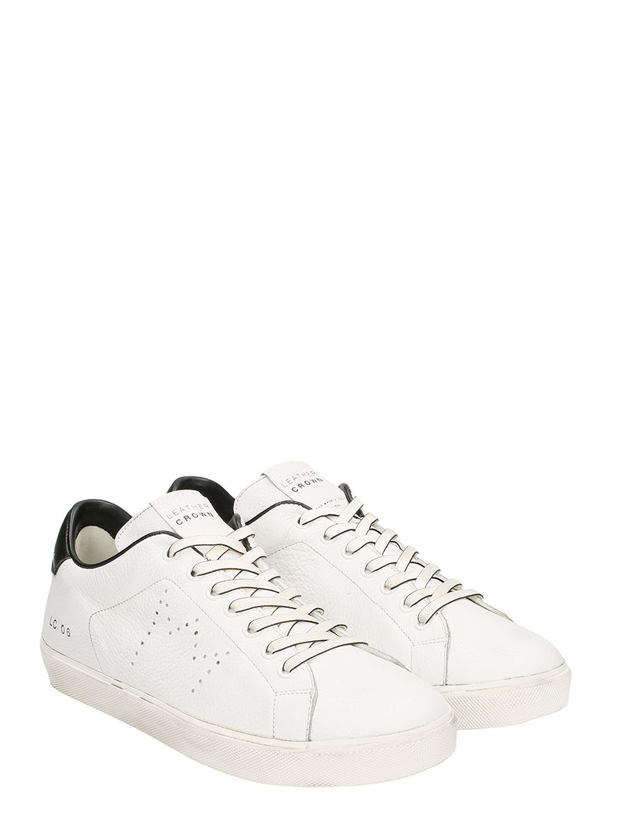 Extremely For Sale Sale Fashion Style Leather Crown Low Lc06 Leather Sneakers Clearance Authentic Online Low Price Fee Shipping Online 1xJW2