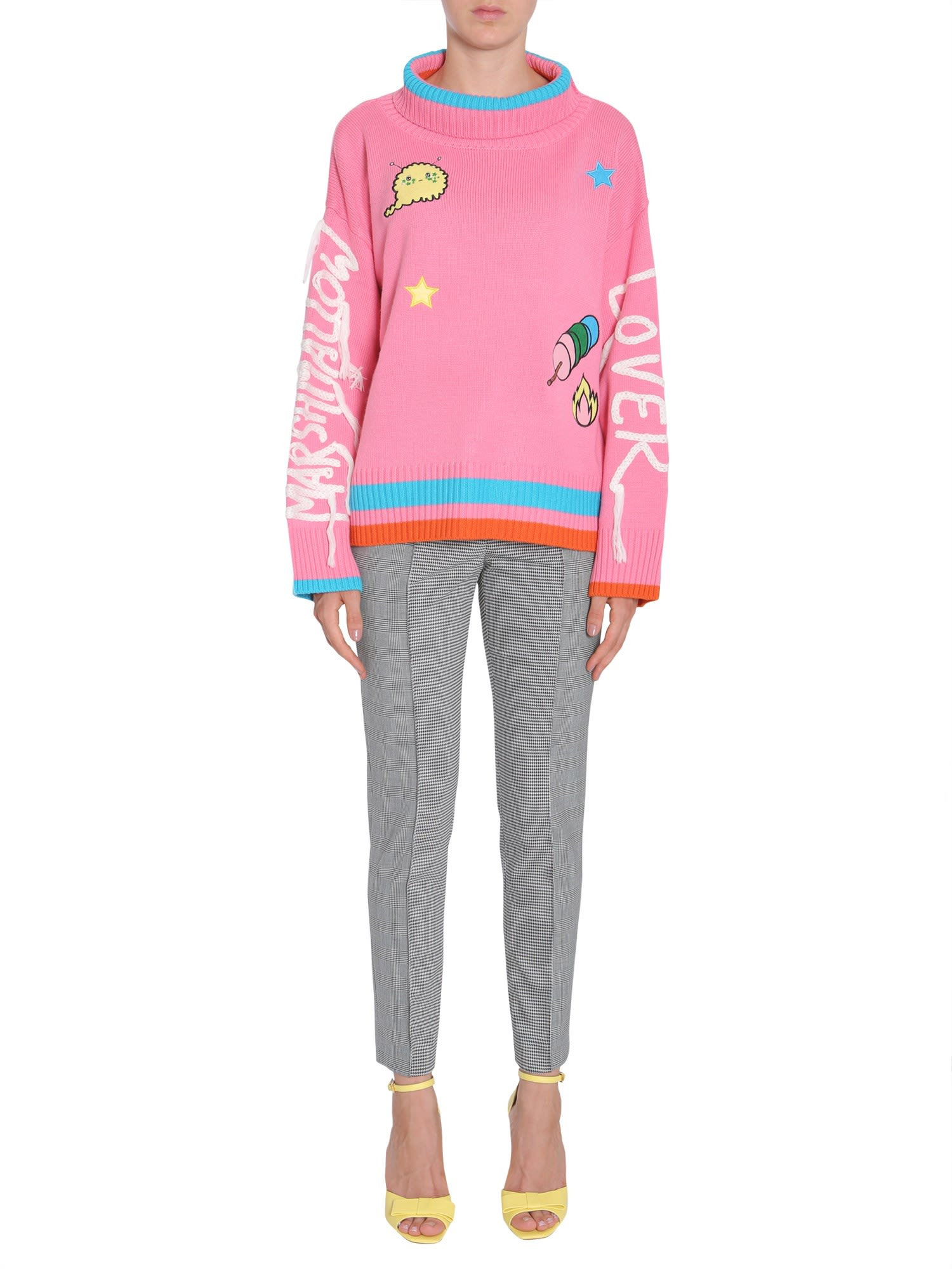 Marshmallow Lover Turtle Neck Sweater