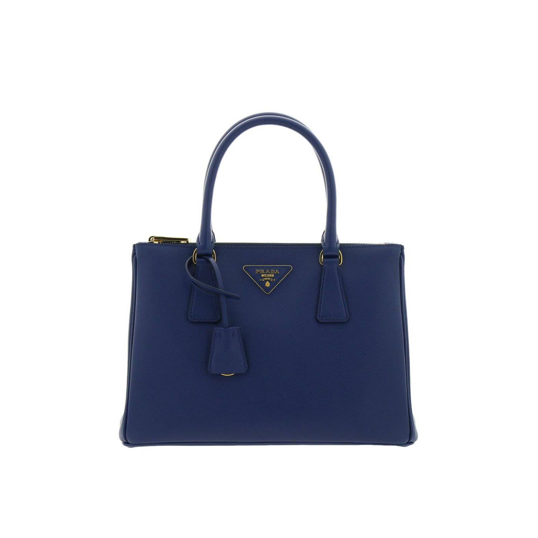 24d65c18629c ... sale prada handbag shoulder bag women prada blue fb0c6 9f41c
