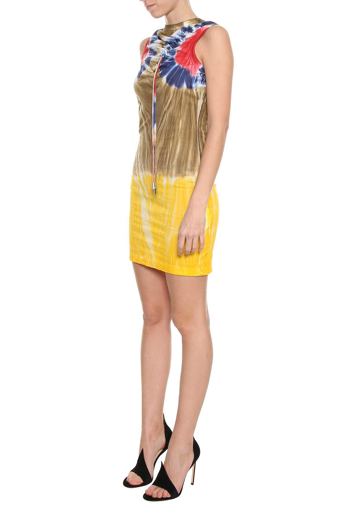 Tie dye sleeveless dress Dsquared2 LQfWCyFz