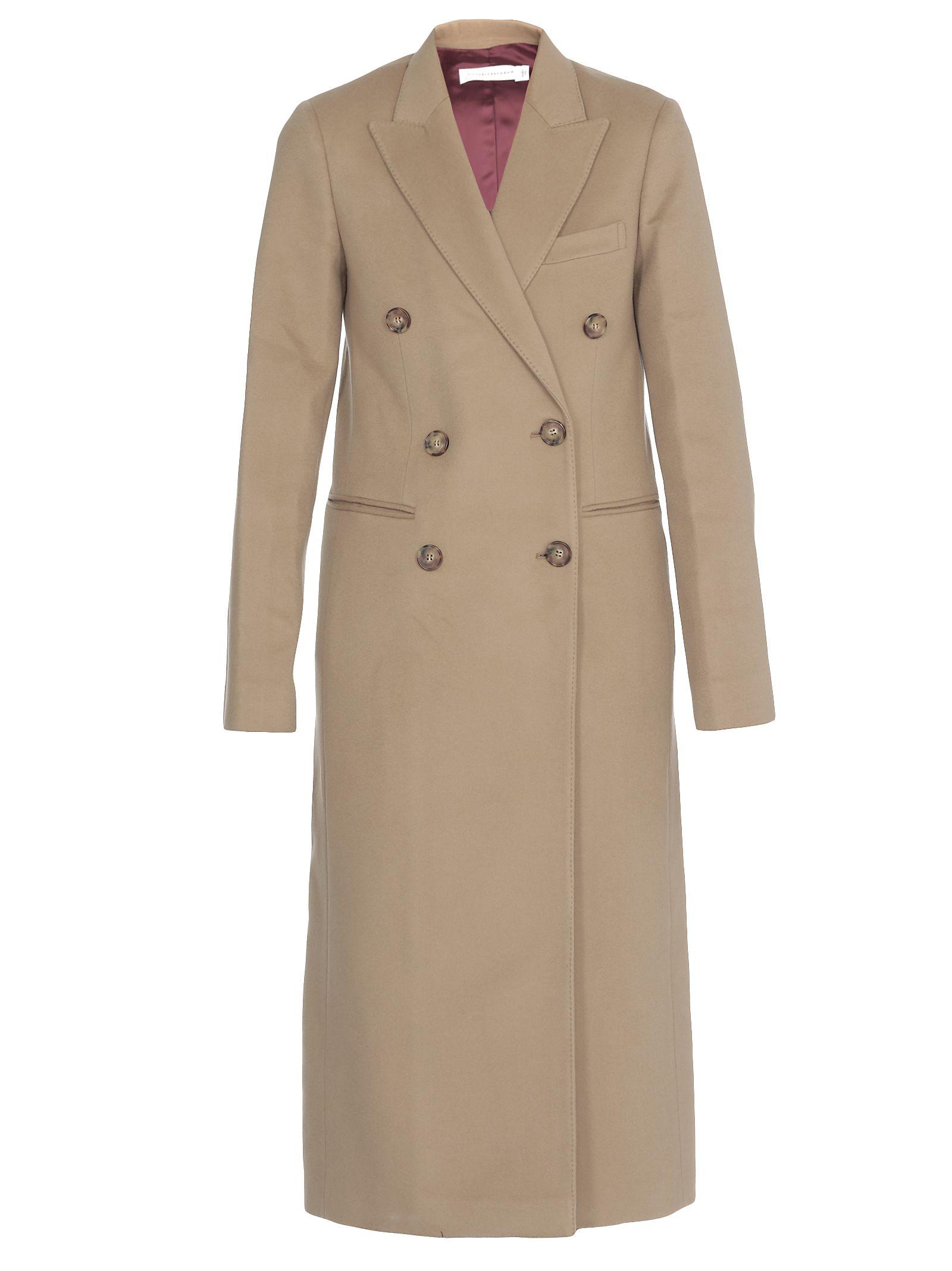 Victoria Beckham Coats TAILORED SLIM COAT