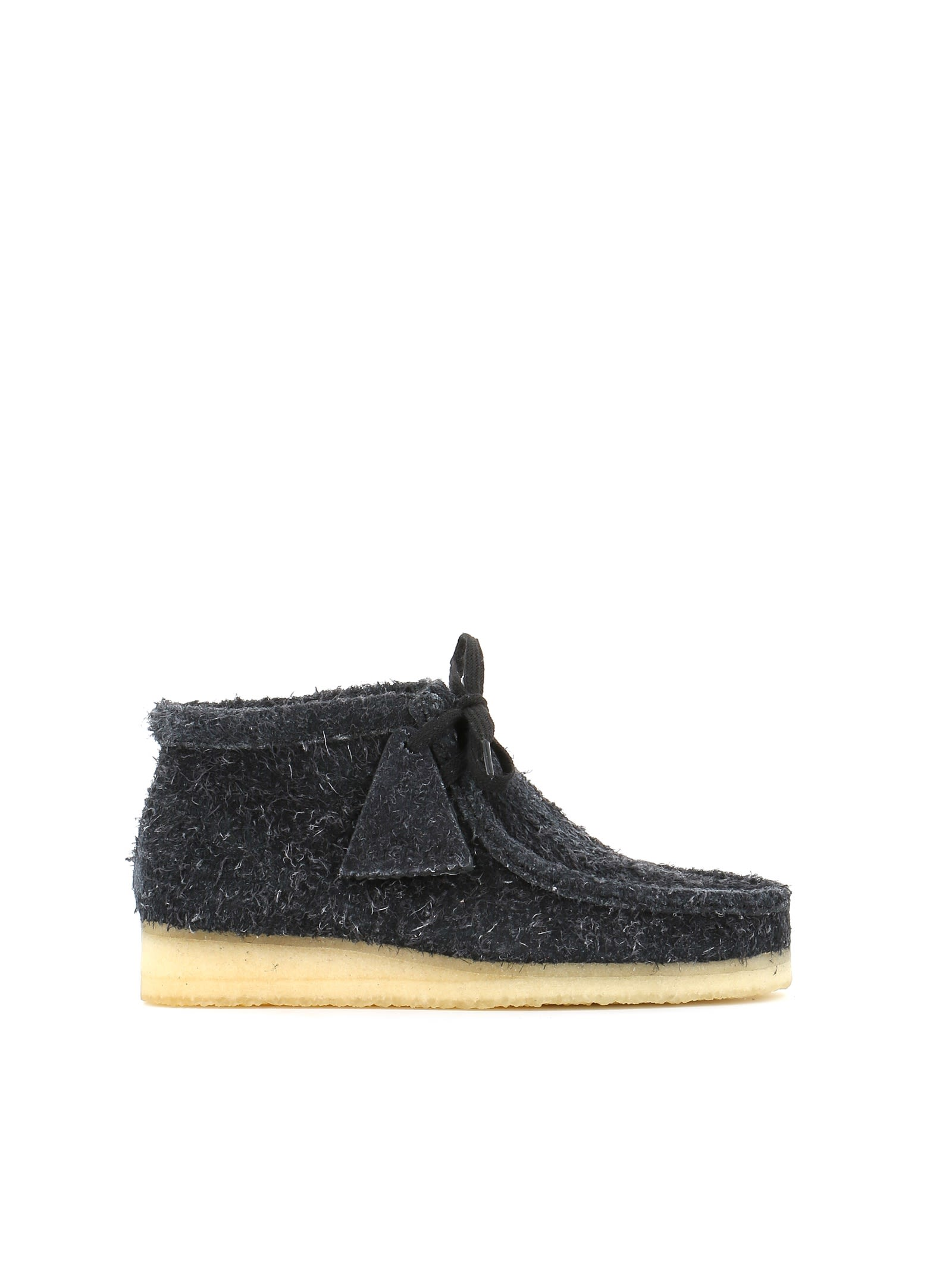 "Desert-Boots ""Wallabee Boot"" in Black"