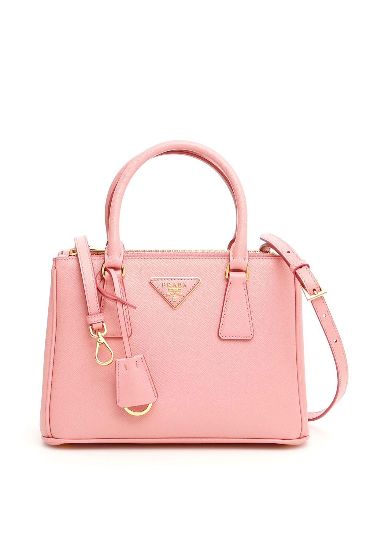 Prada Saffiano Lux Galleria Bag In Petalo 091a28671741b