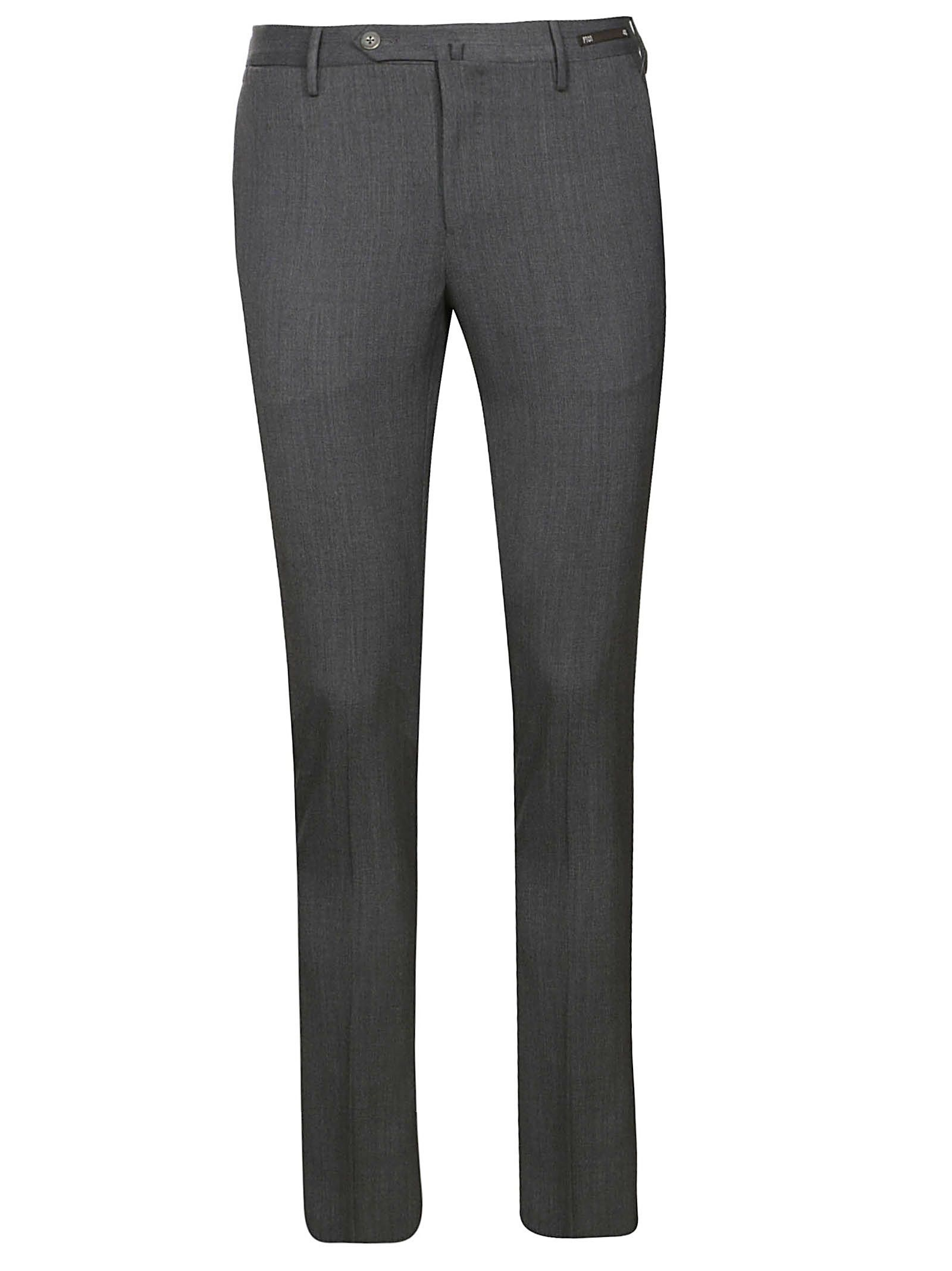 Pt01 Creased Slim Fit Trousers