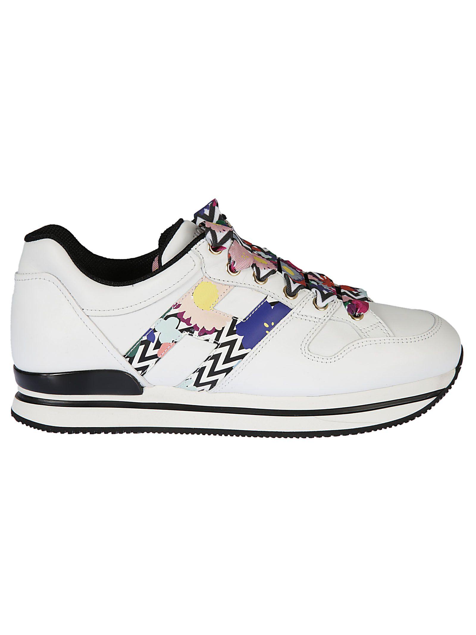 Venta Barata Almacenista Geniue Off-White floral print sneakers - Bianco Comprar Barato 100% Garantizada Barato WKTupVt8x