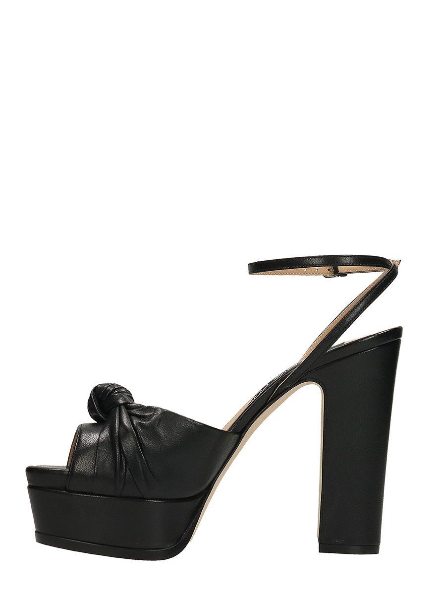 Kaia sandals - Black Sergio Rossi veSBKDi