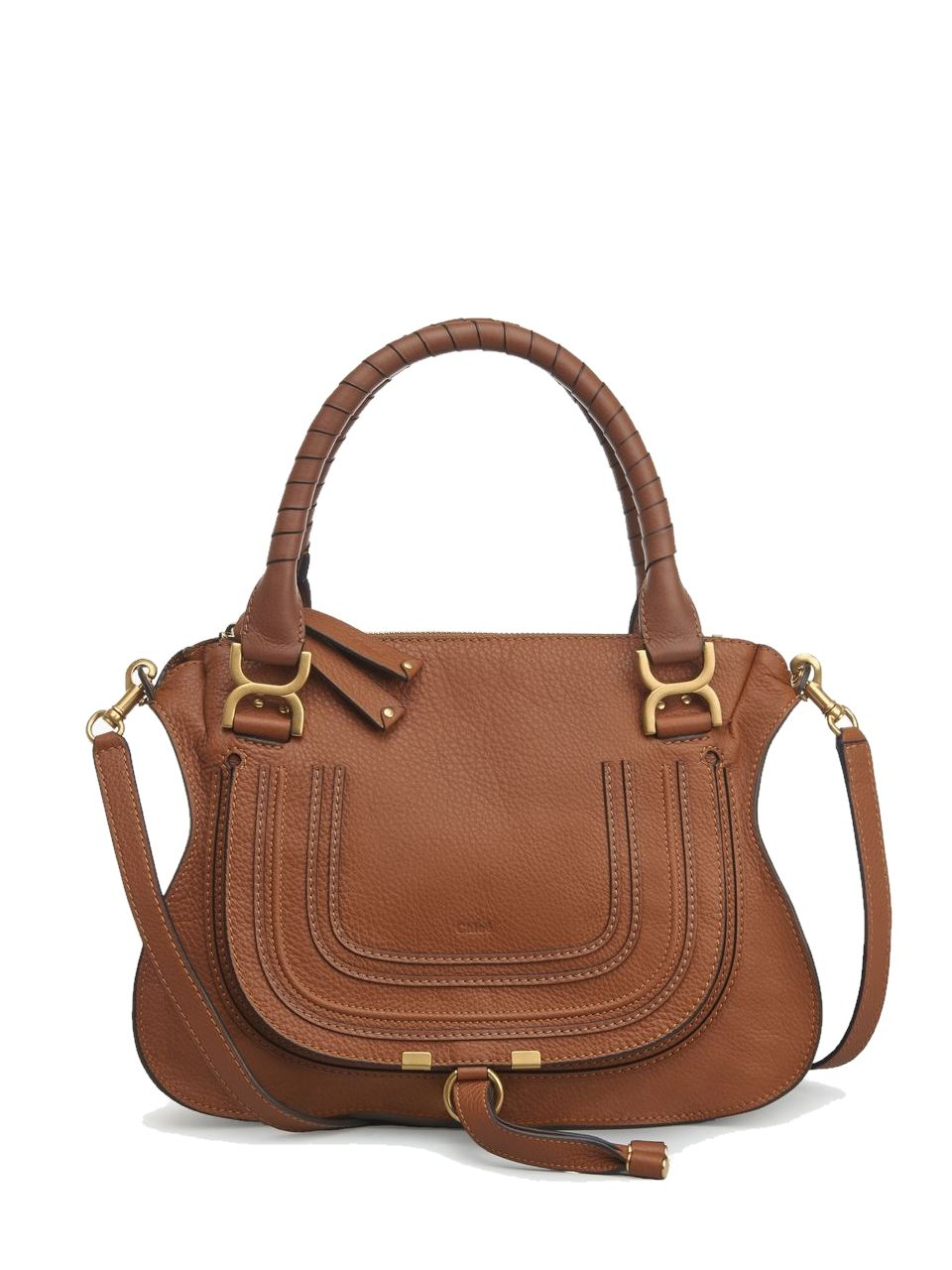 CHLOÉ CHLOE BROWN MARCIE HANDBAG