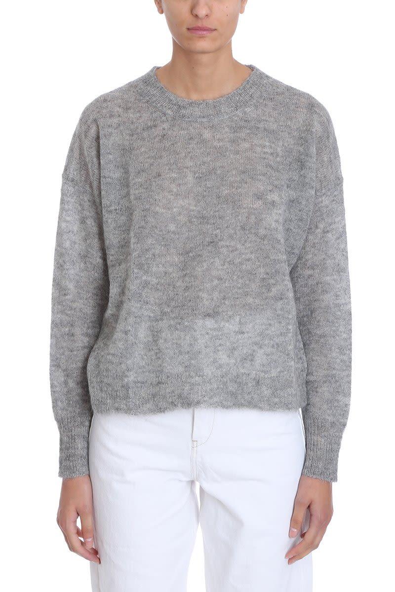 Isabel Marant Étoile Grey Wool Sweater