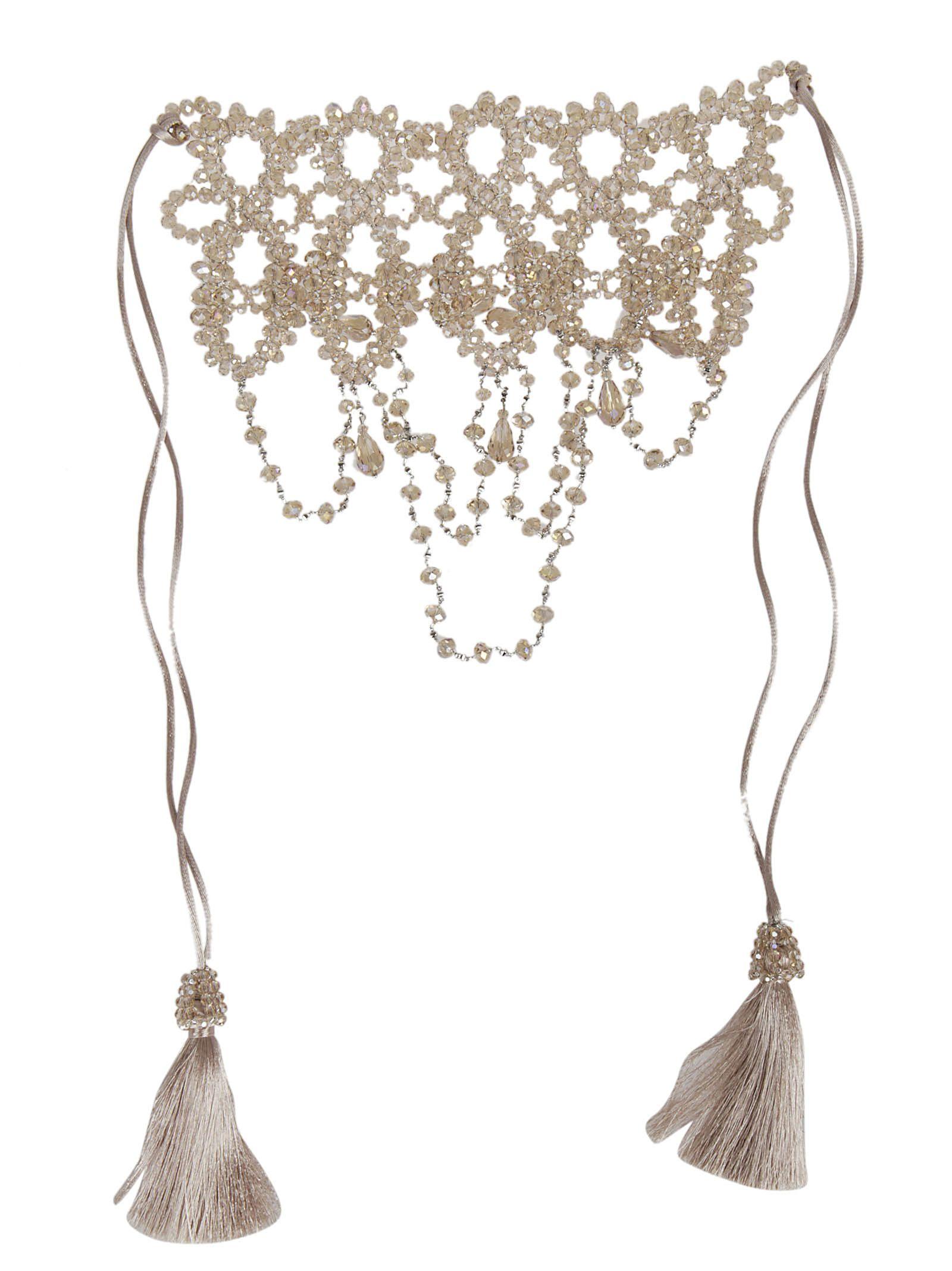 Night Market beaded necklace - Pink & Purple ani4s