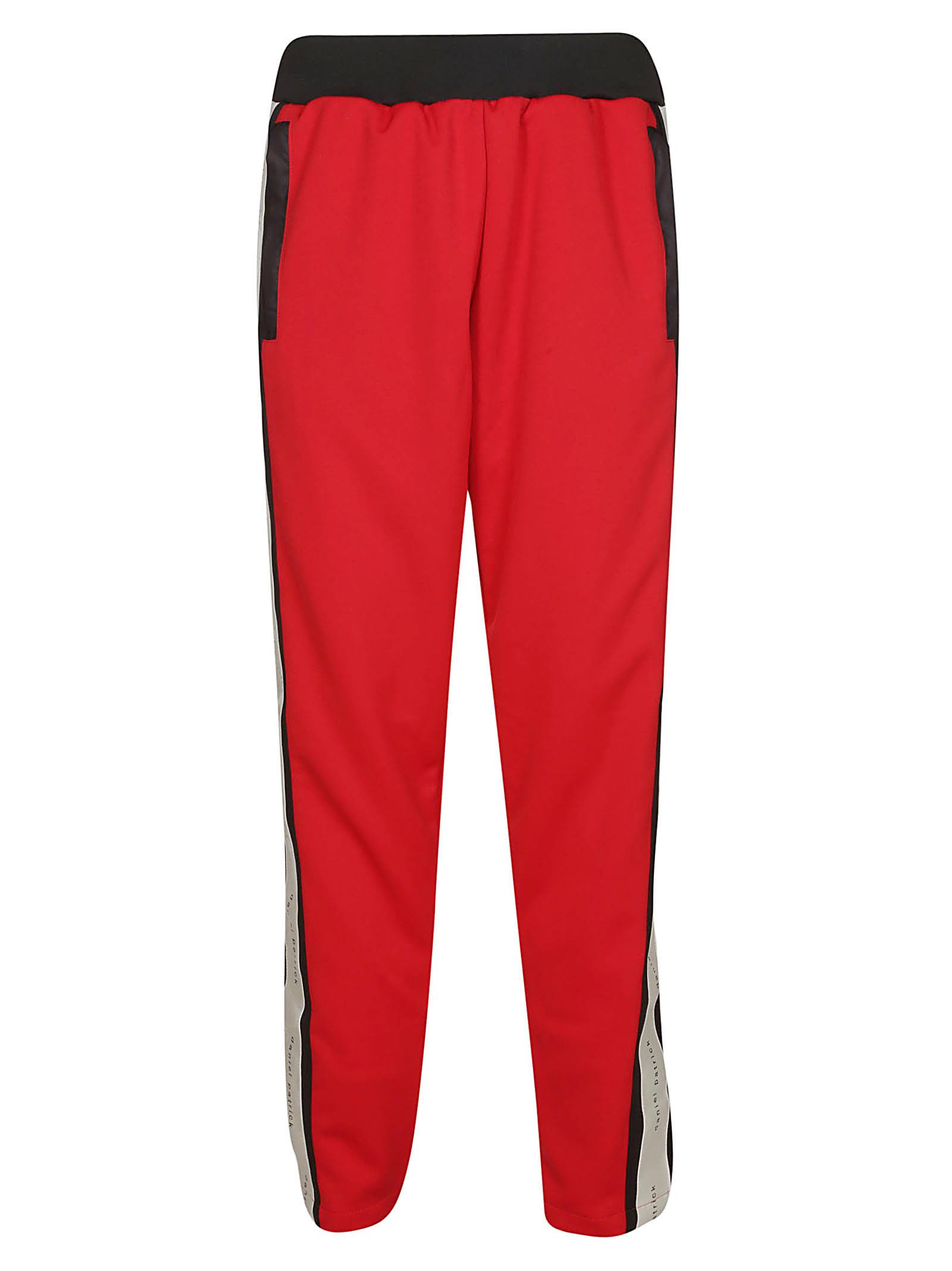 DANIEL PATRICK Elasticated Trousers in Red
