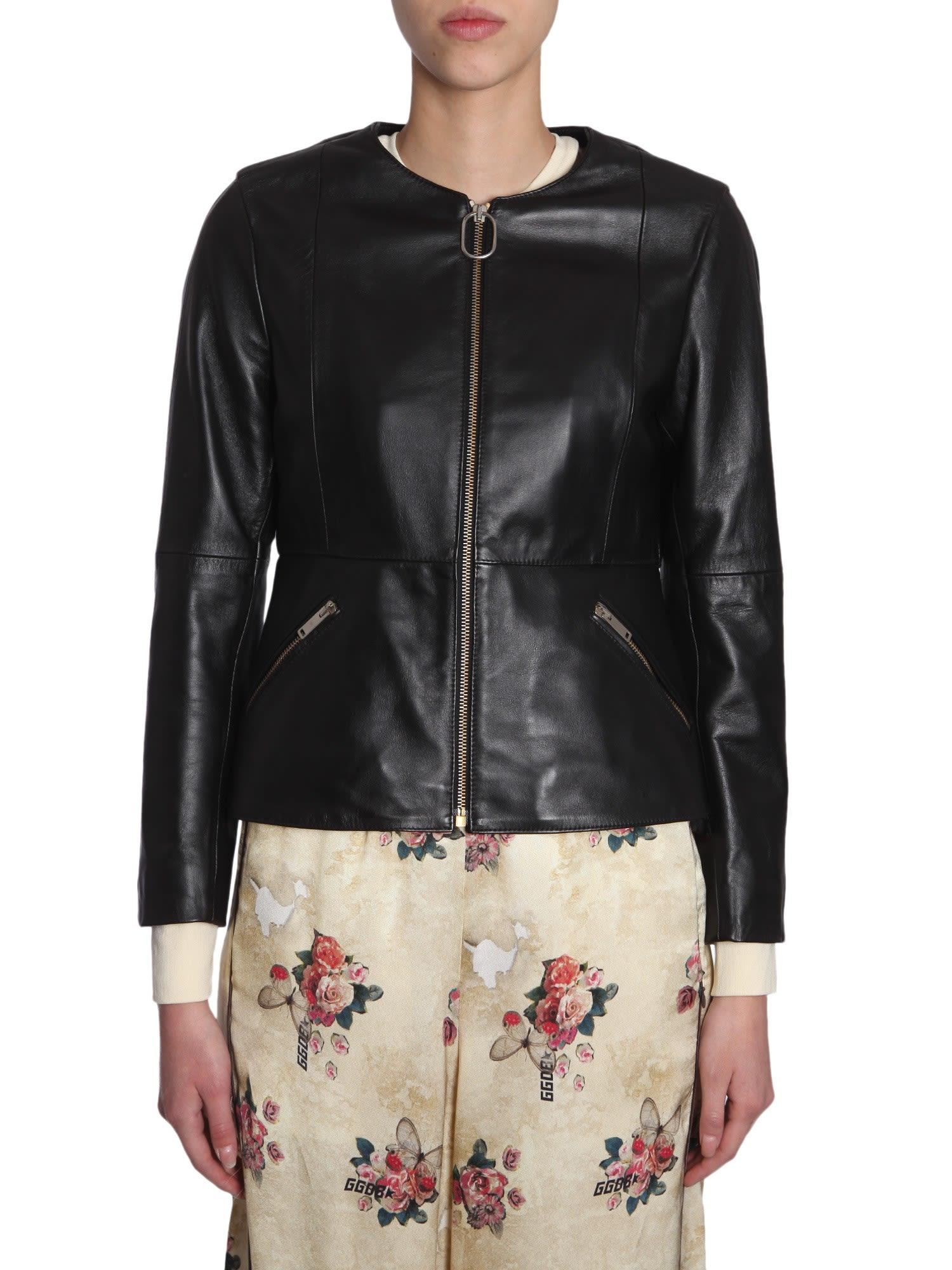 Jacket Nero Golden 10596656 Santana Goose Italist wxWU4O1