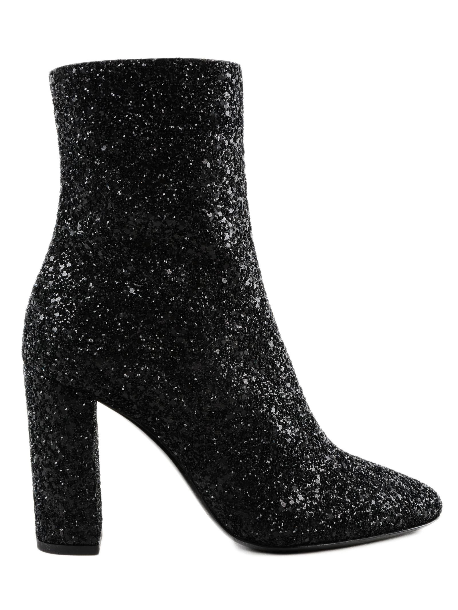 Lou 95 Ankle Boots in Black
