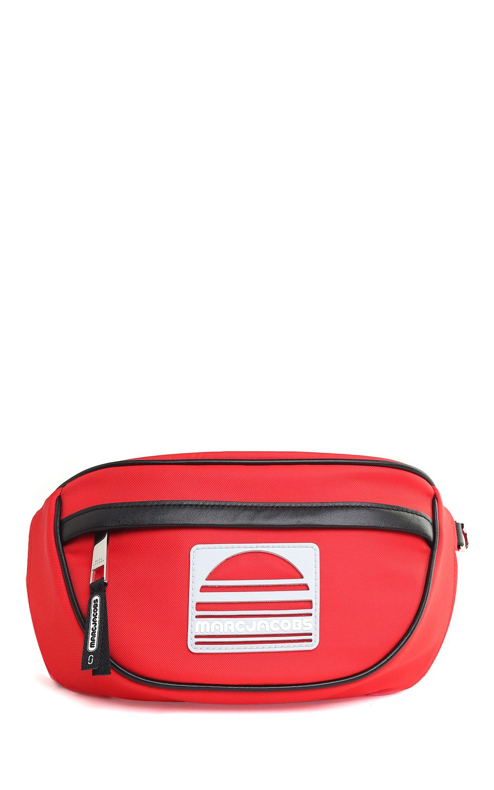 marc jacobs -  Sport Leather And Nylon Fanny Pack