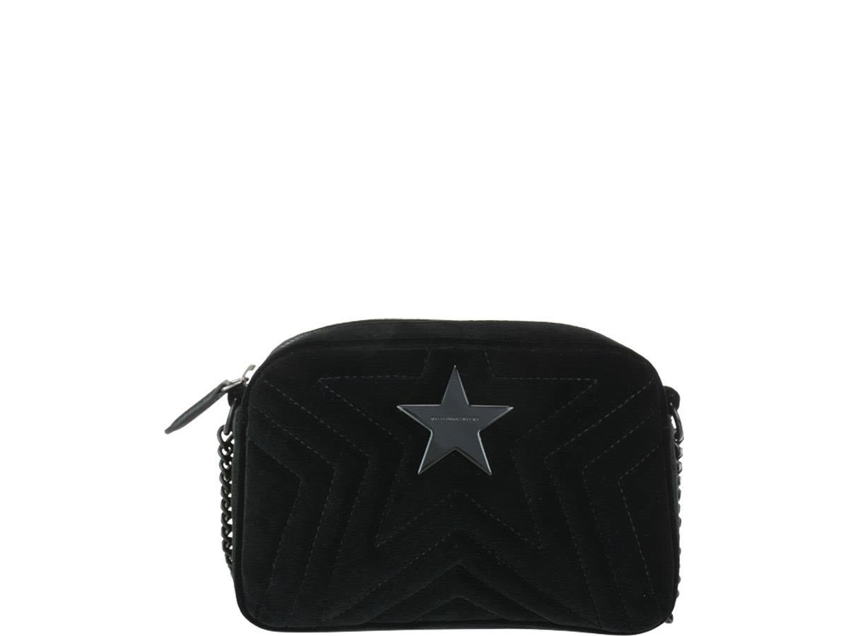 Stella Mccartney Mini Stella Star Bag In Black  d55ddb443c01f