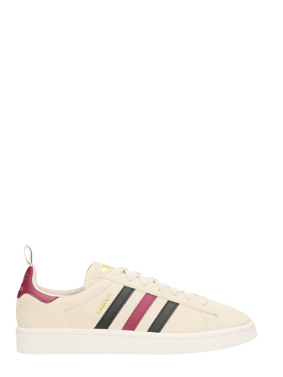 Adidas Campus Beige Suede Sneakers 10499221