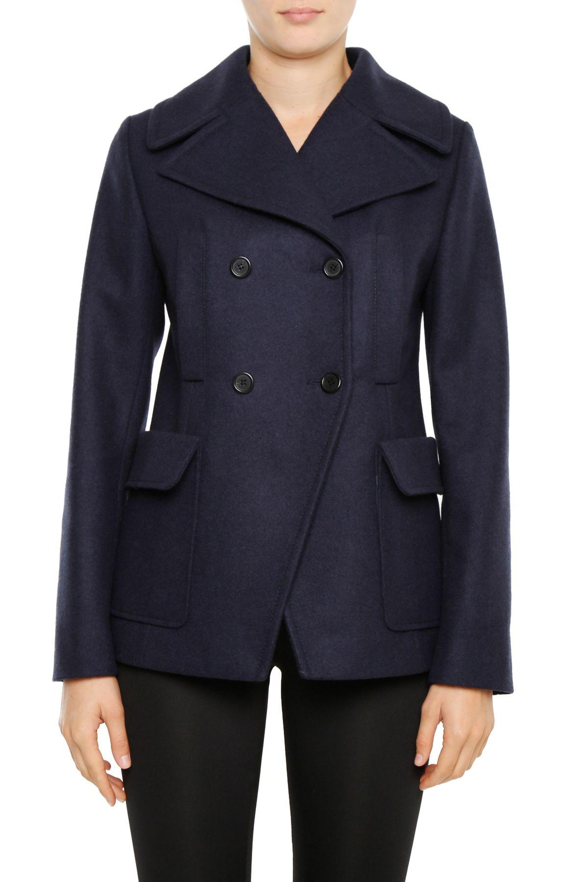 Brilliant Youtobin Womenu0026#39;s New Style Winter Dress-Coats Slim Long Woolen Pea Coat | Pricer Pro - The Best ...