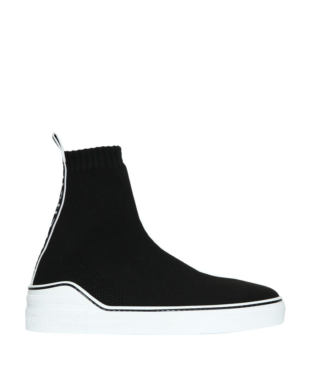 GIVENCHY GEORGE V HIGH-TOP SNEAKERS