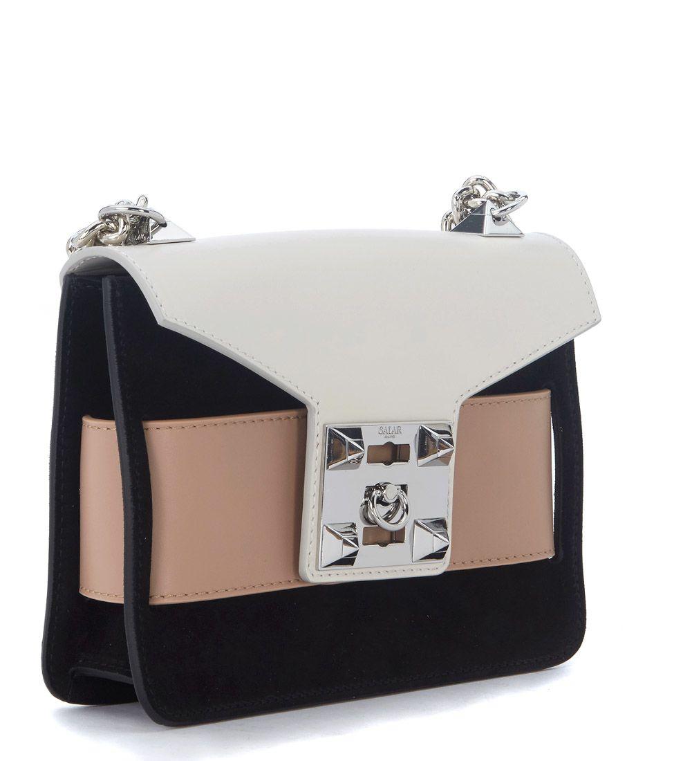 SALAR Mila multicolor leather shoulder bag men's Shoulder Bag in Cheap Sale Best Store To Get Clearance Deals Cheap Sale Outlet Locations Buy Cheap Deals FQfnRsR7