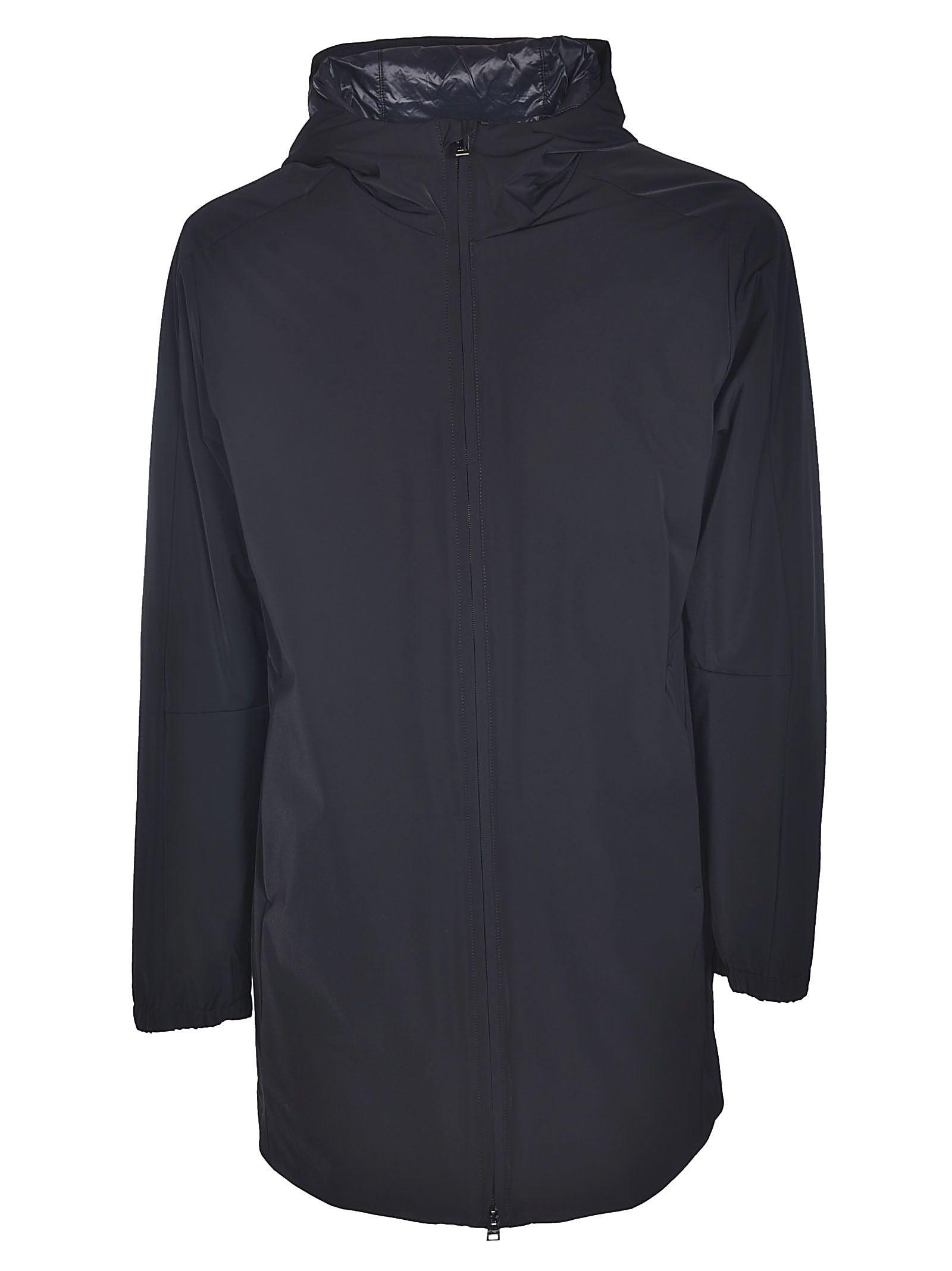 ALLEGRI High Neck Long Jacket in Black