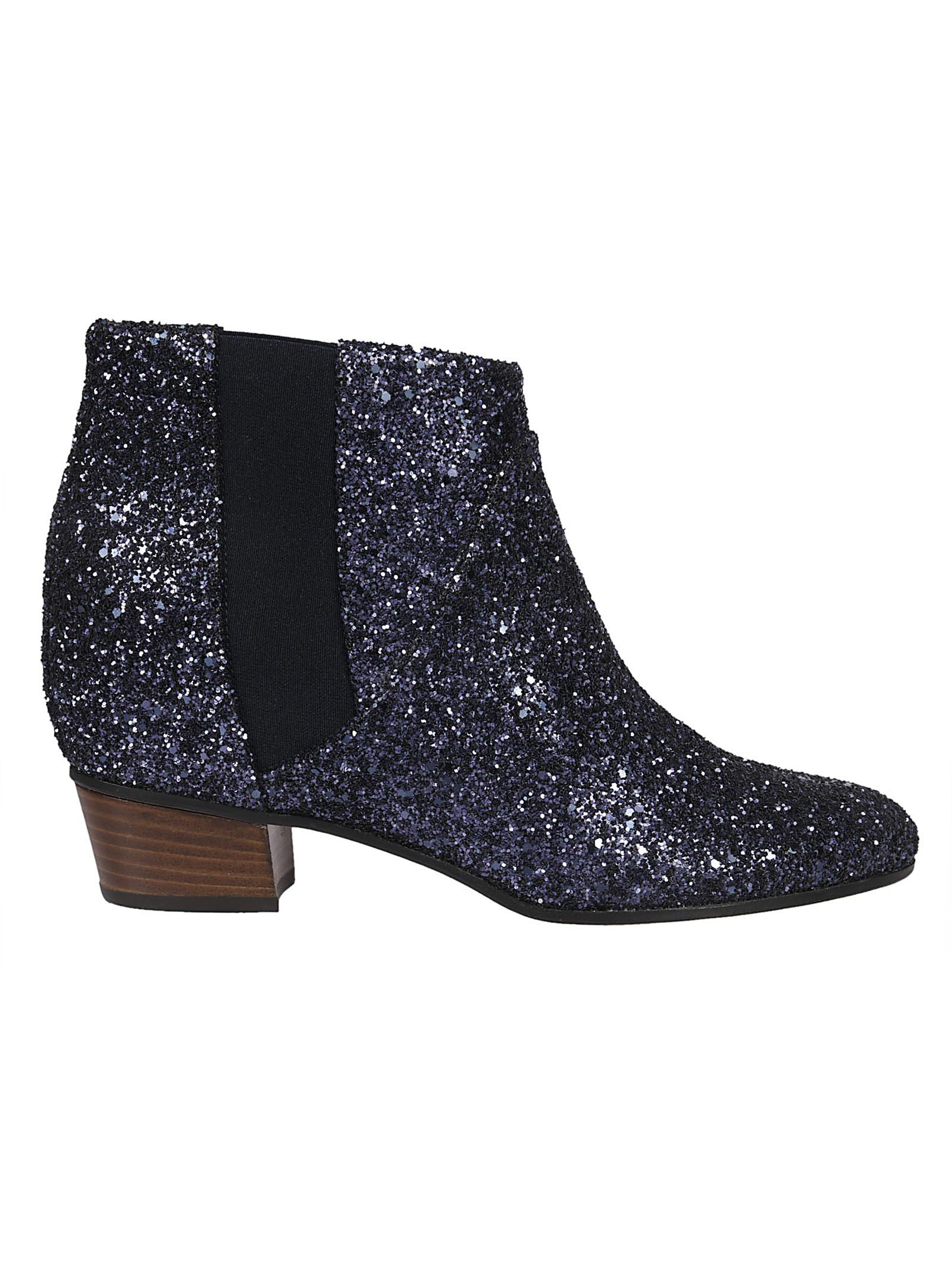 Dana Ankle Boots in Blue