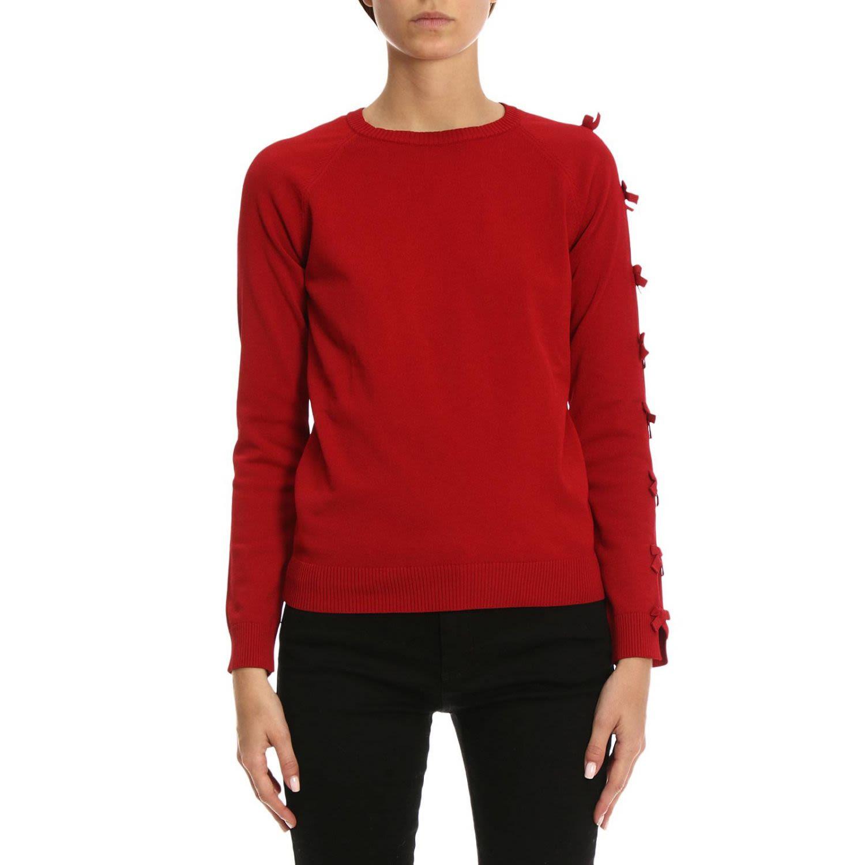 Bow Sleeve Sweater