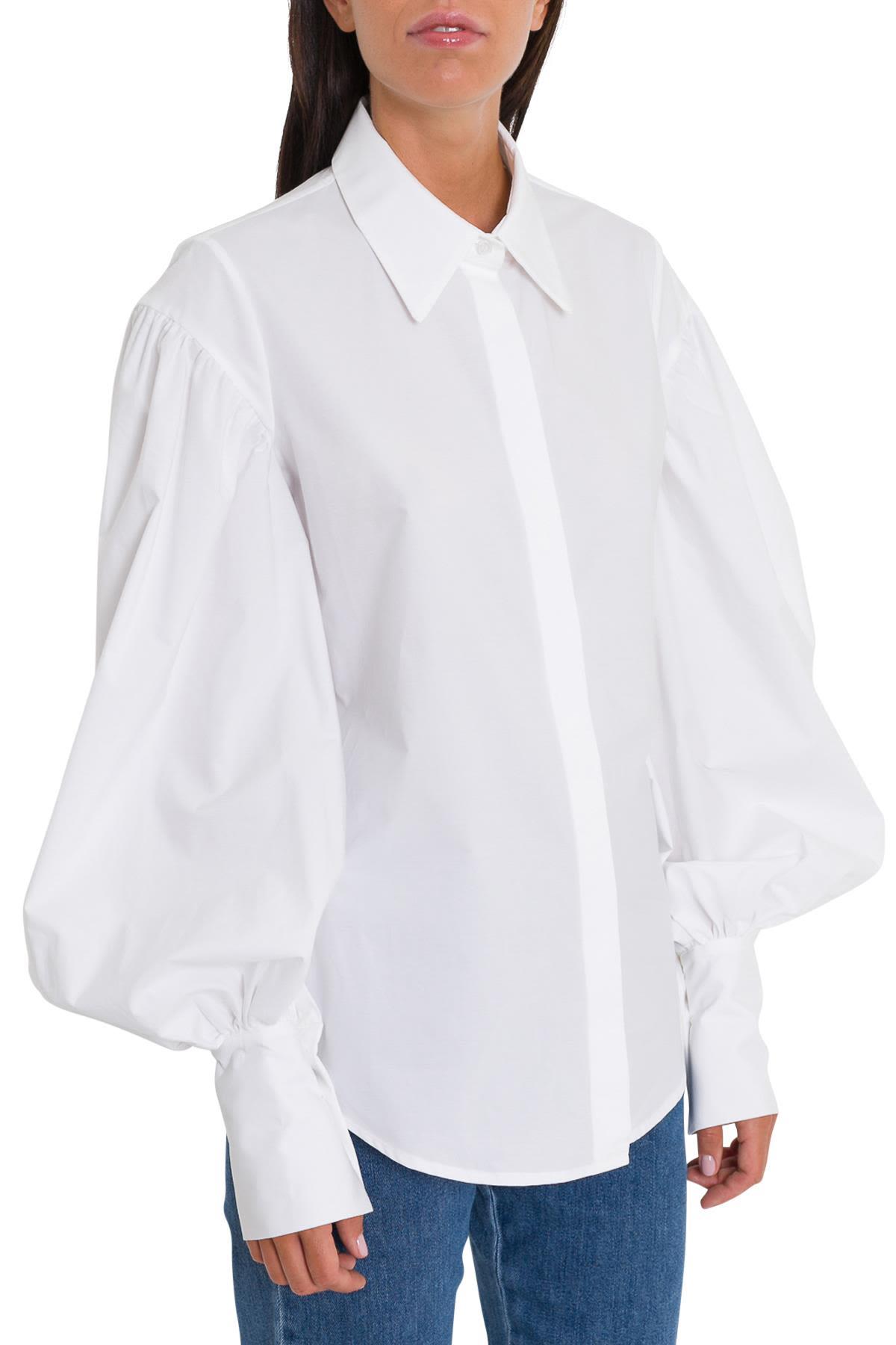 ISA ARFEN Hilda Shirt in White