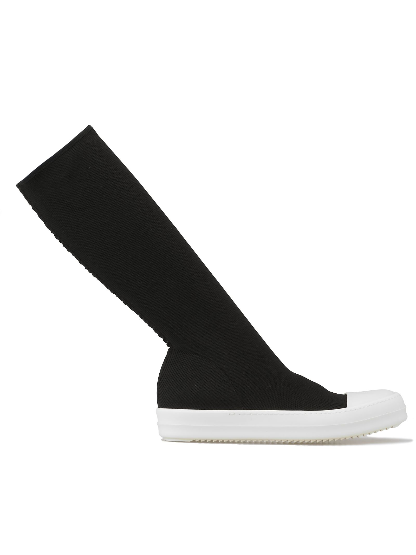 DRKSHDW Tech Fabric Boot in Black/Milk
