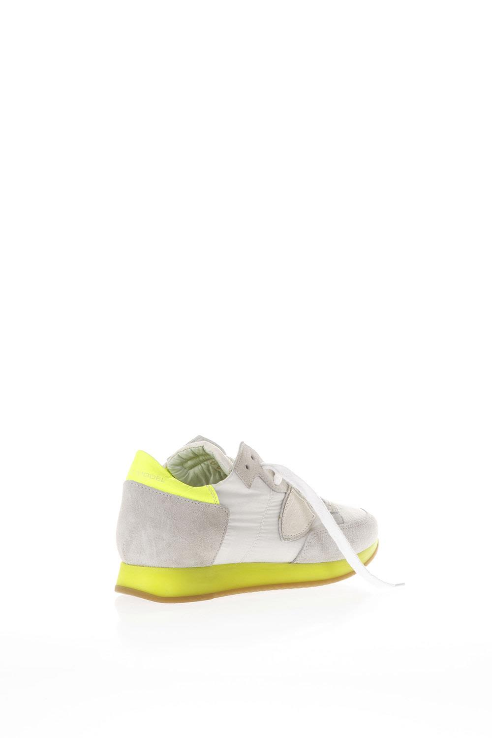 Philippe model Grey And Yellow Suede And Nylon Tropez Sneakers Hot Sale Footlocker Pictures With Paypal Online glLR9ljQ