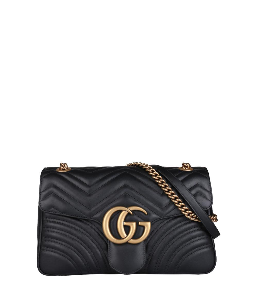 GG MARMONT MEDIUM LEATHER BAG