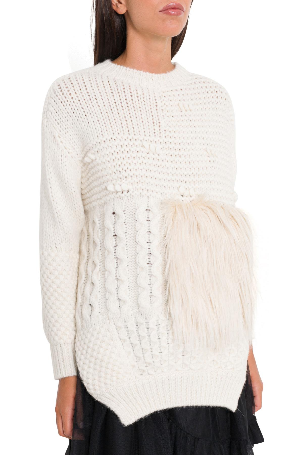 Simone Rocha Patchwork Sweater