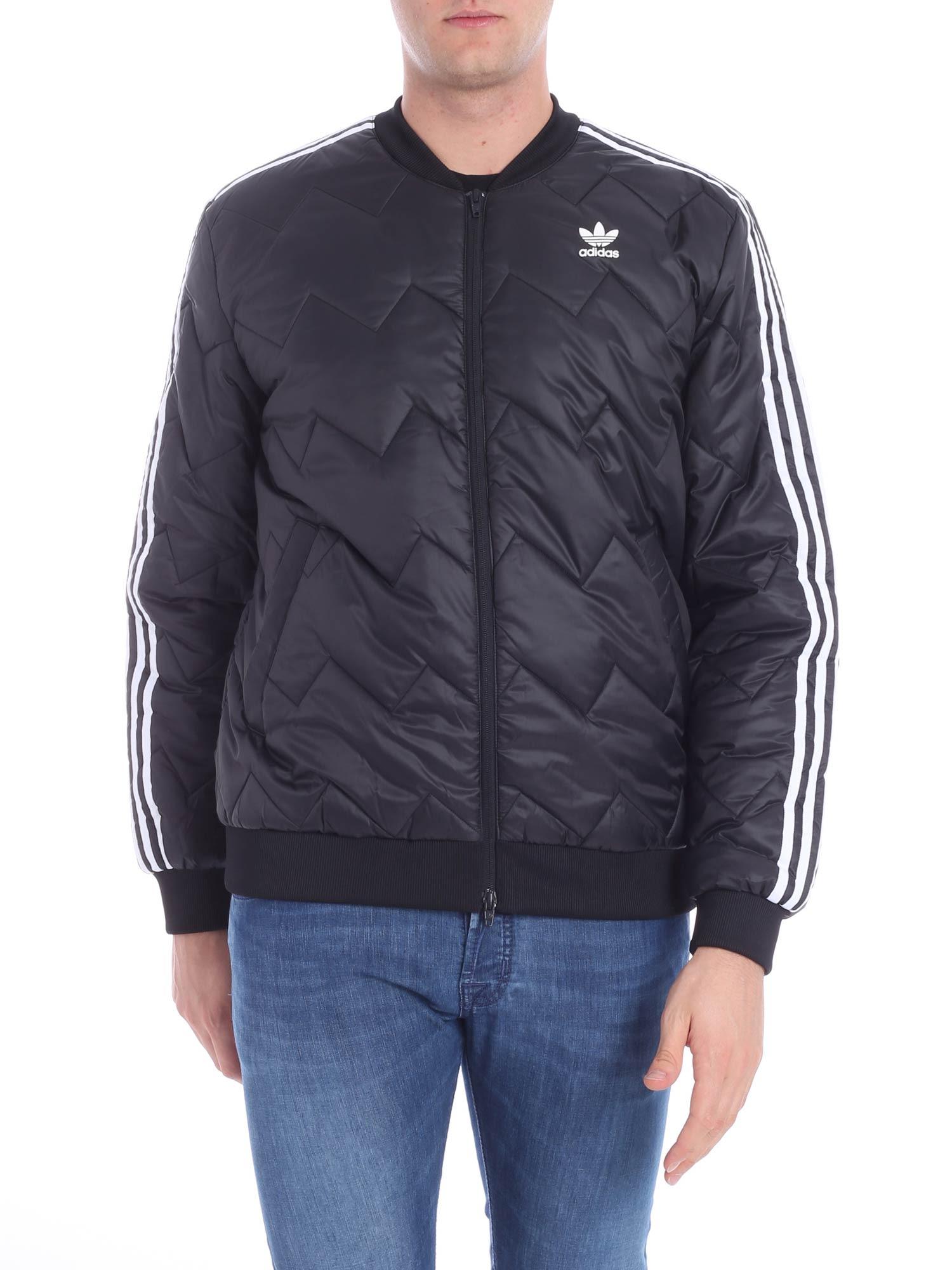 templo Del Norte orquesta  Shop Adidas Originals Sst Quilted Jacket In Black
