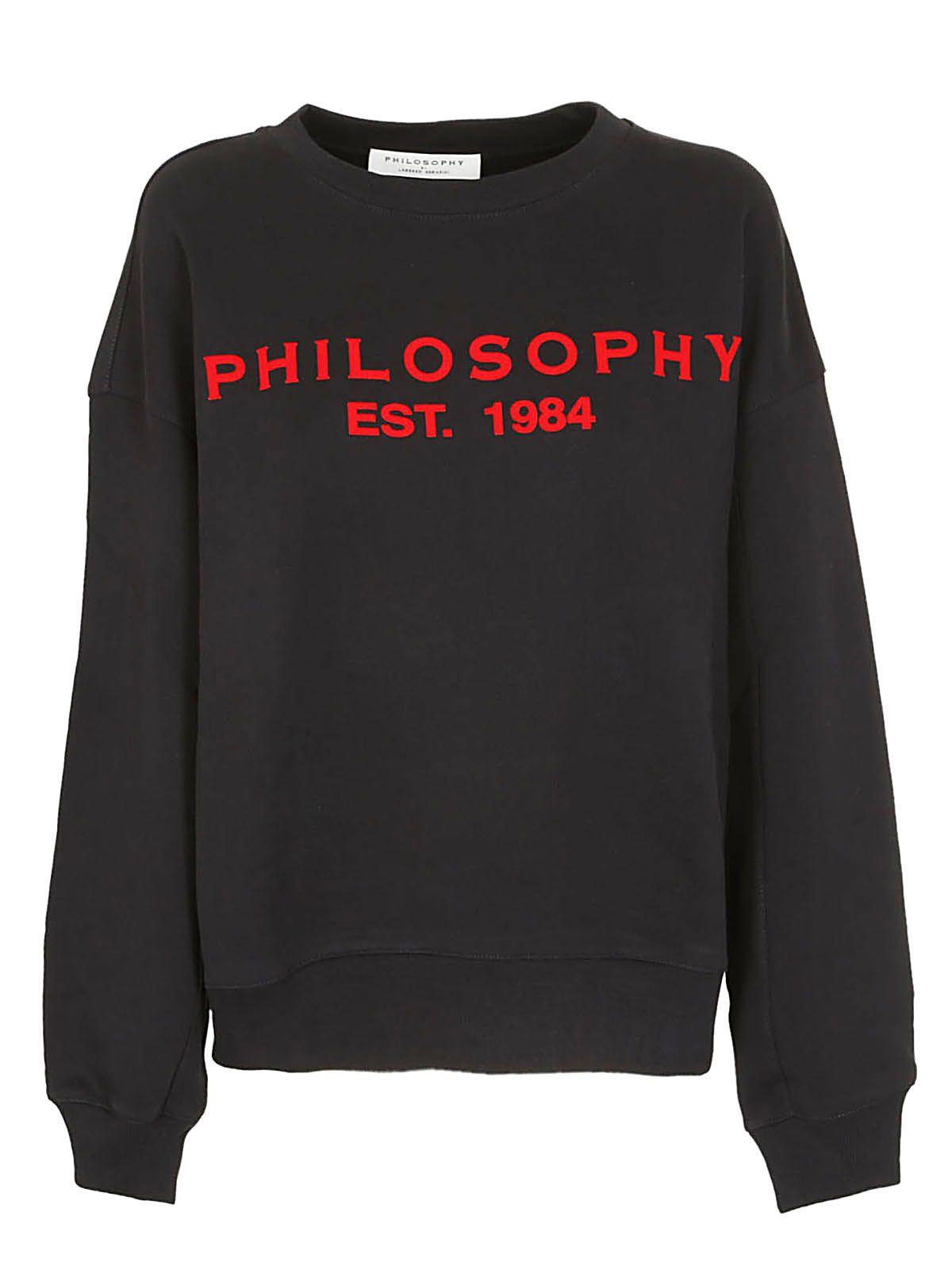 Philosophy Di Lorenzo Serafini Drop Shoulder Logo Sweatshirt