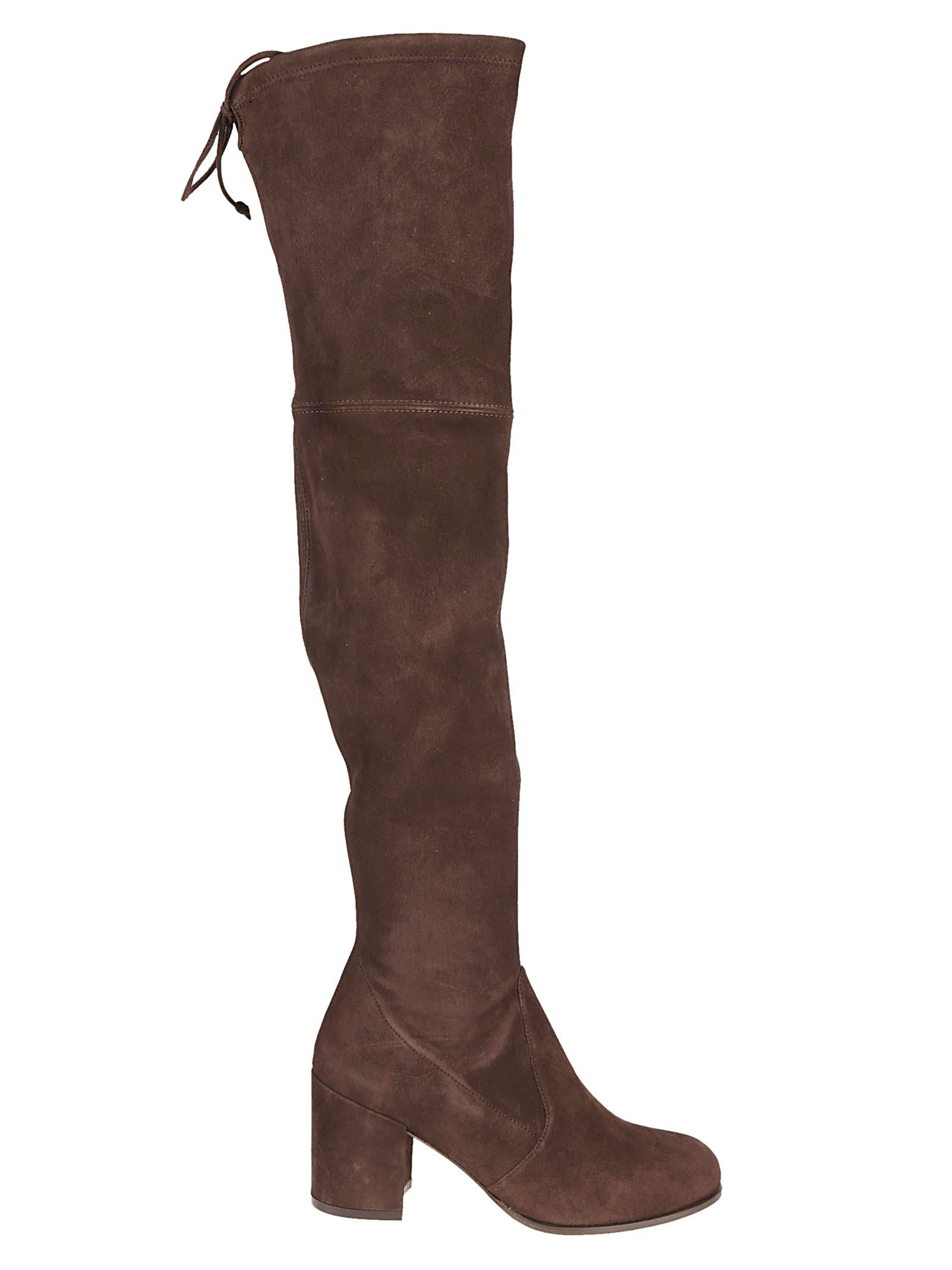 Tieland Over-The-Knee-Boots in Hickory