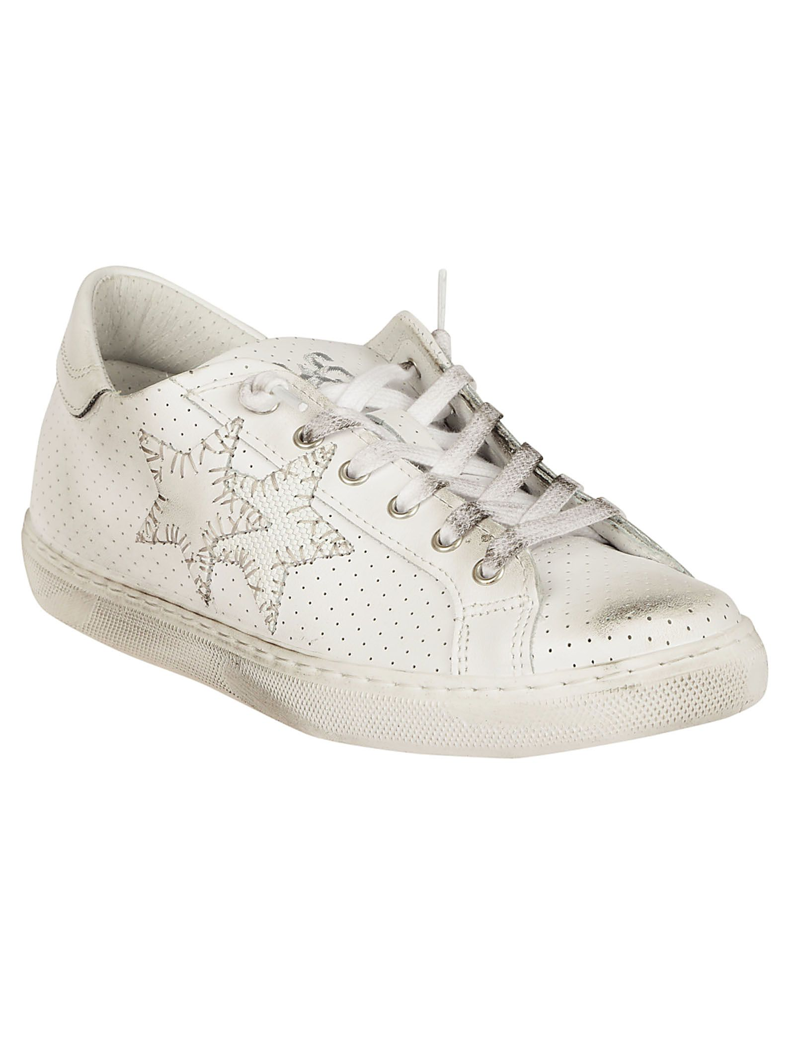 2STAR Perforated Sneakers Lowest Price Cheap Price E5YPfrA6O