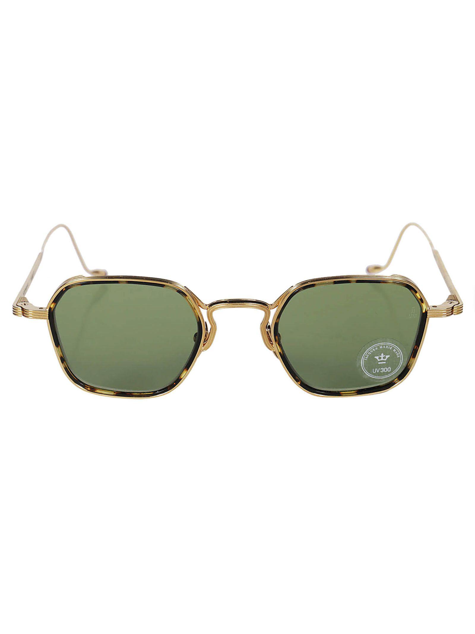 Wyatt Sunglasses, Gold Havana