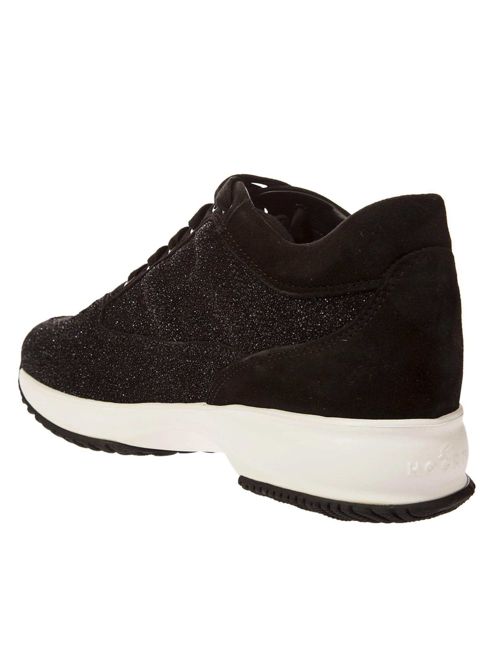 Hogan Glittery platform sneakers p4gGUXIDav