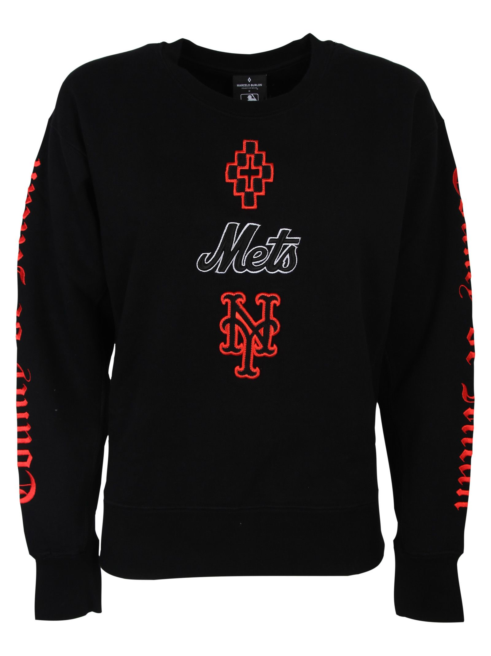 Marcelo Burlon County Of Milan METS EMBROIDERED SWEATSHIRT