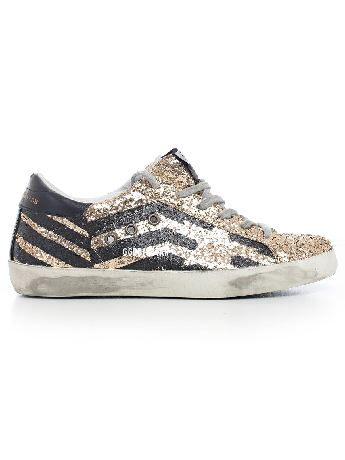 Golden Goose Deluxe Brand Superstar Glittered Panel Sneakers Perfect For Sale Low Price Fee Shipping Sale Cheap Online nKidHP