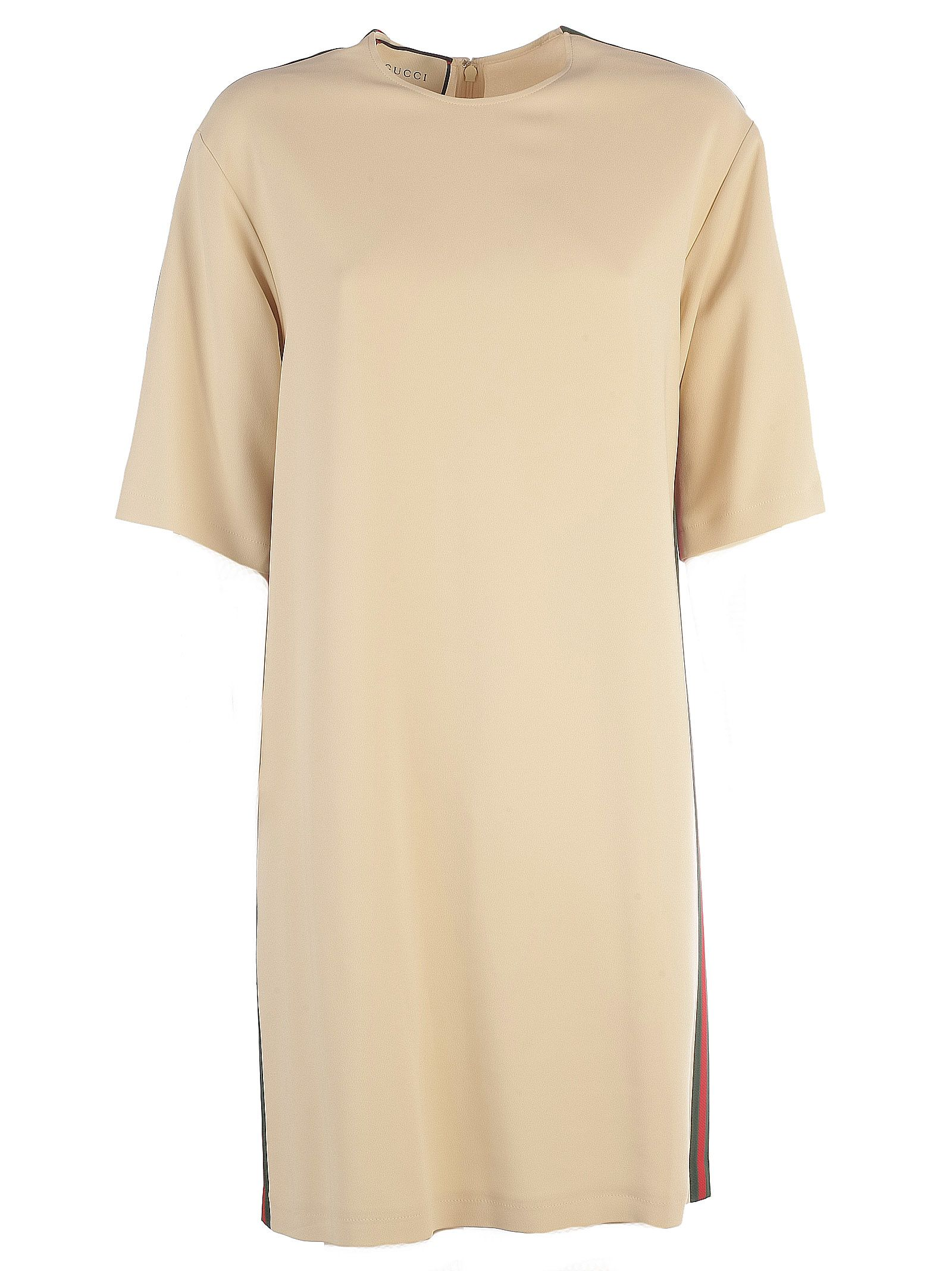 GUCCI WEB CONTRAST TUNIC DRESS