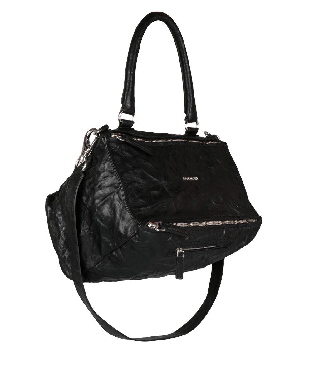 Sac Moyen Pandora En Cuir Lavé - Givenchy Noir l5zcpUqyi6