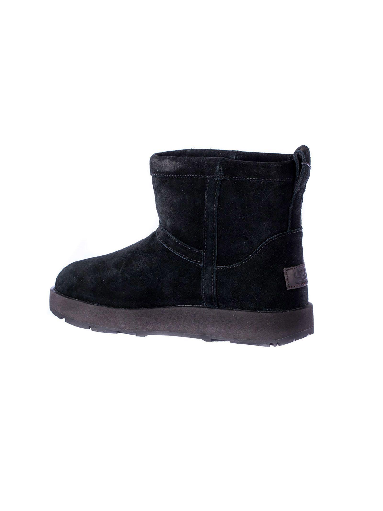 ... UGG Classic Mini Waterproof Boots - Black ...