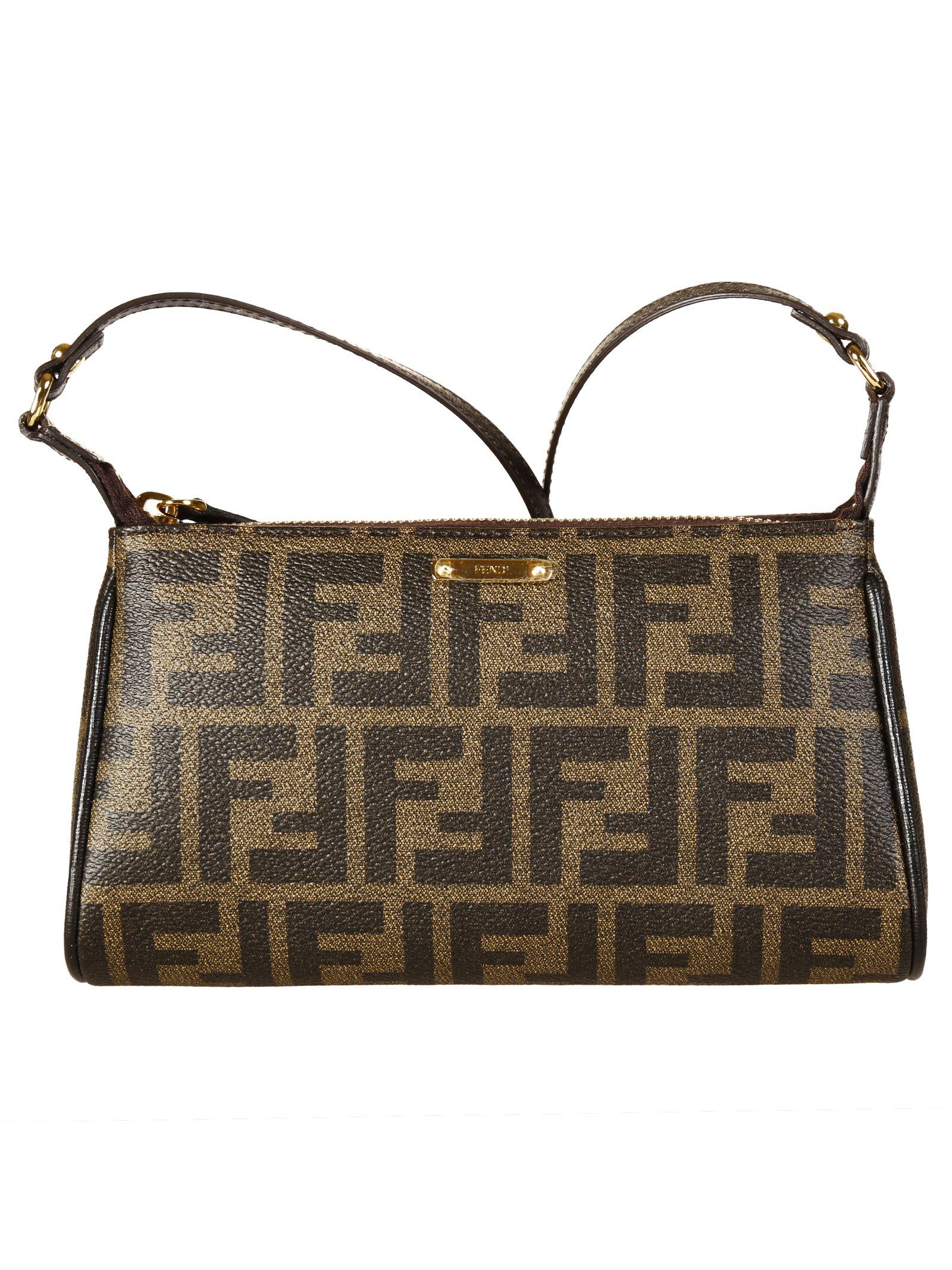 Fendi FF Logo Crossbody Bag ...