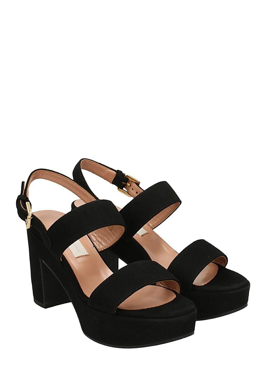 slingback sandals - Black L'autre Chose WgaOWaSqs