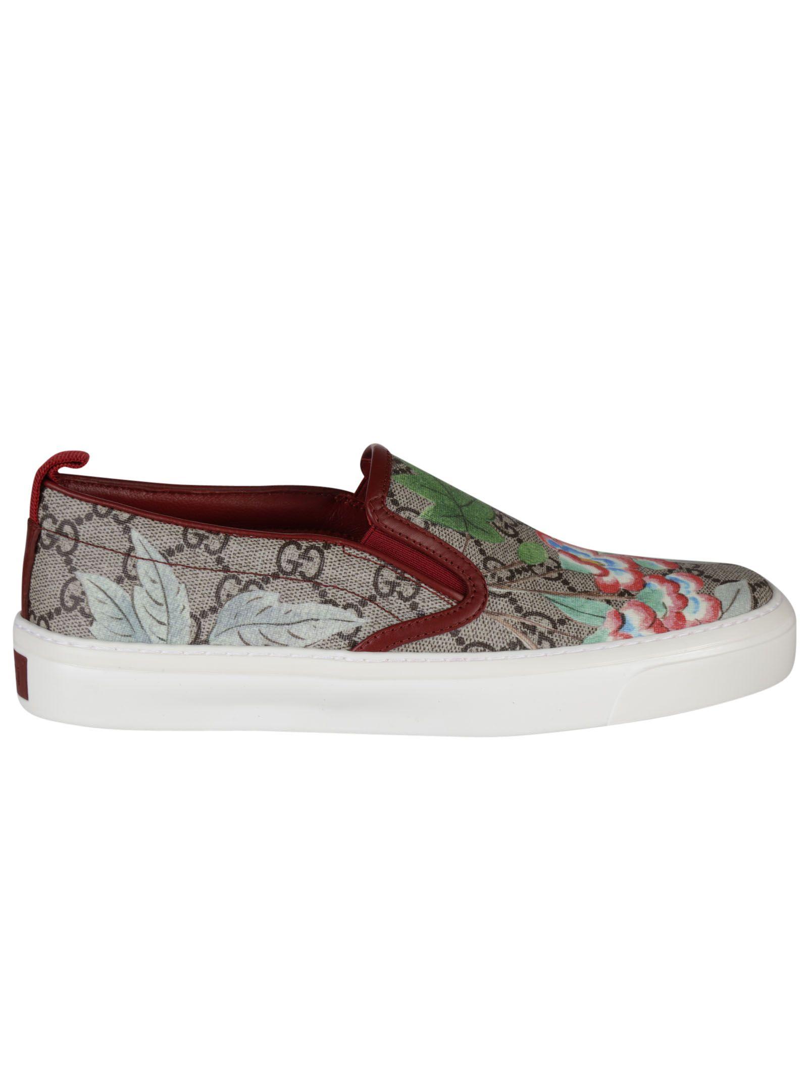 Gucci Tian Slip On Sneakers