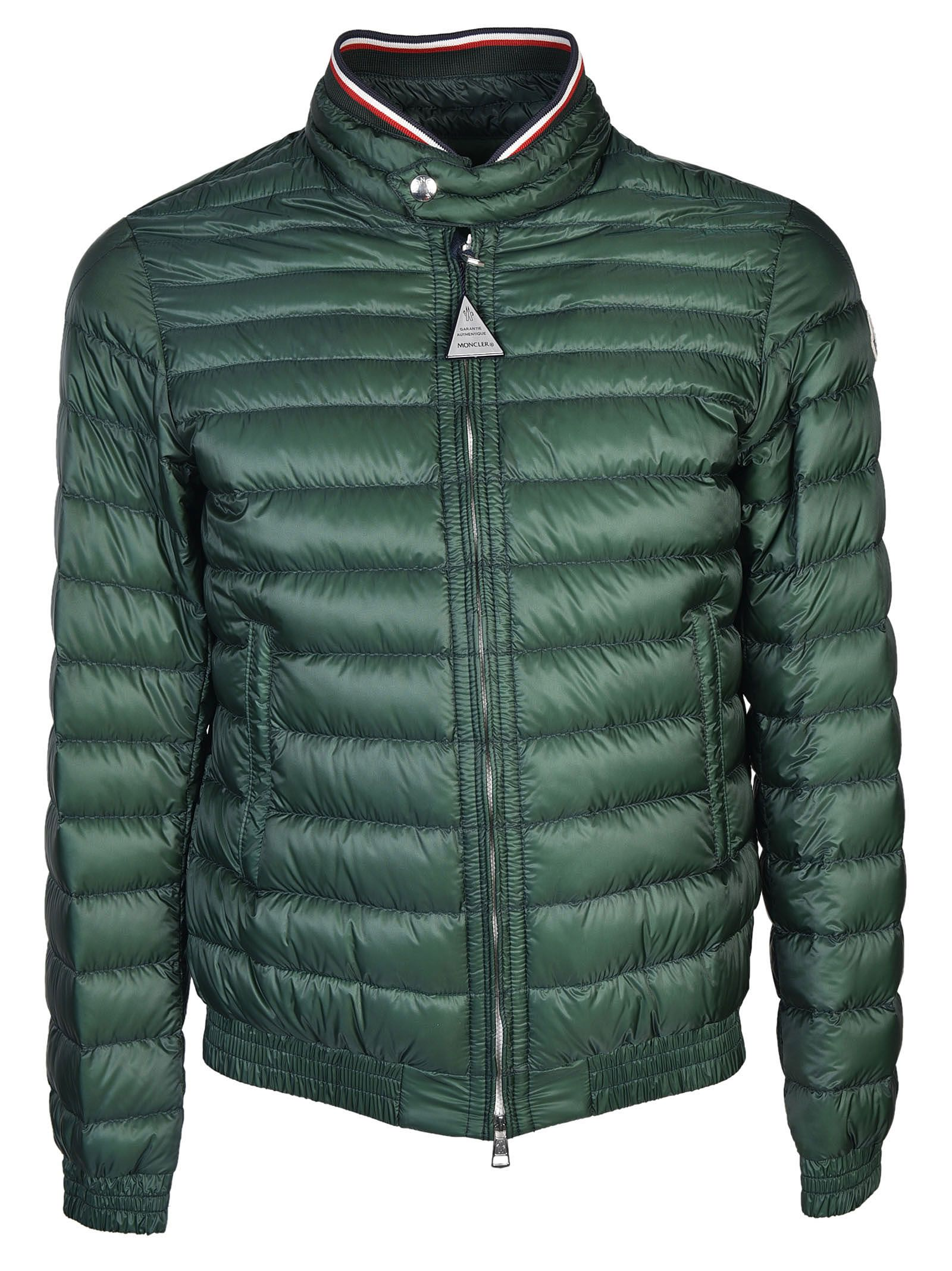 Moncler Garin Down Jacket - Green ...