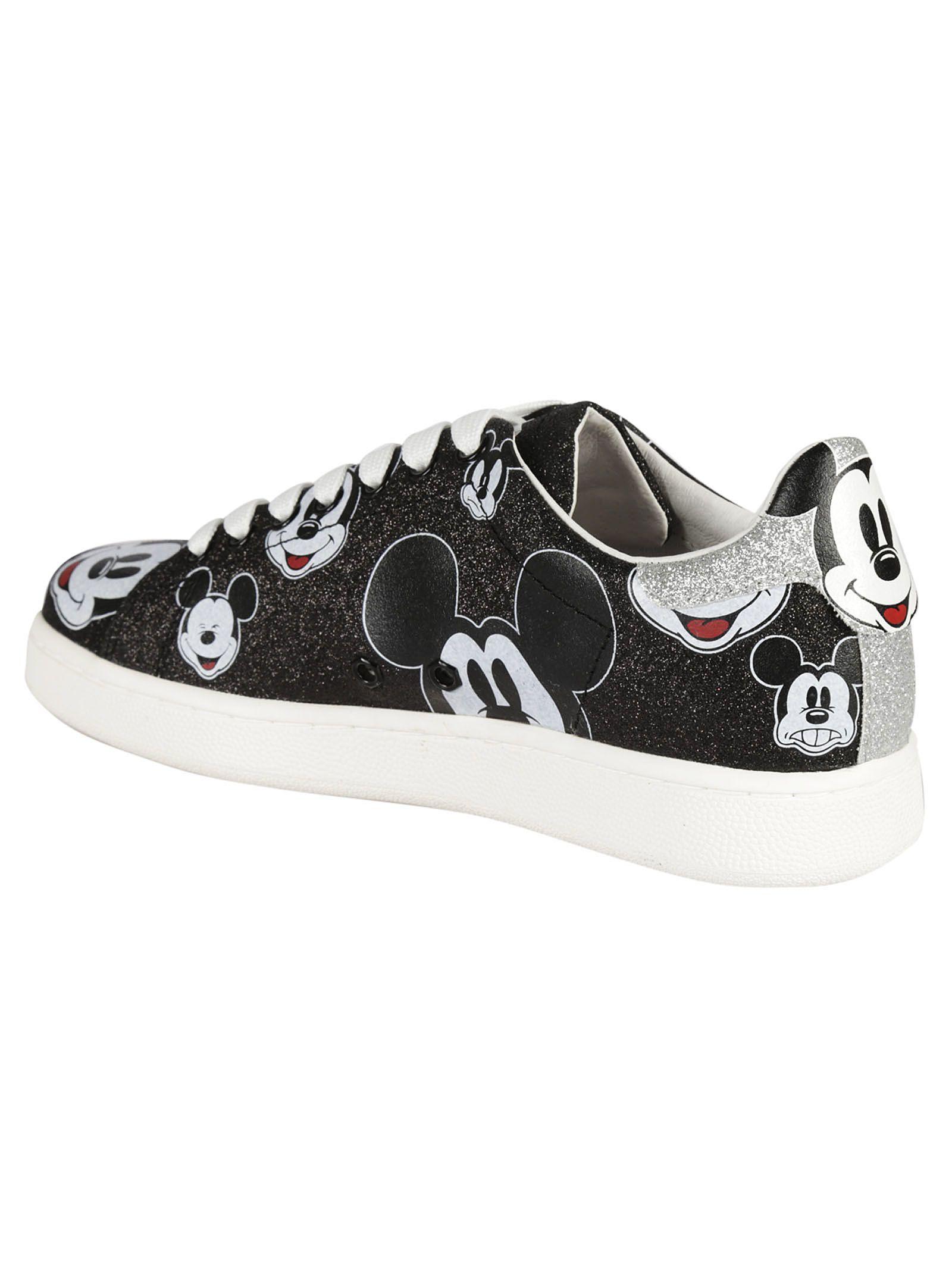 Maître Moa De Chaussures De Sport Agrémentées D'arts De Mickey - Noir 0AZxq