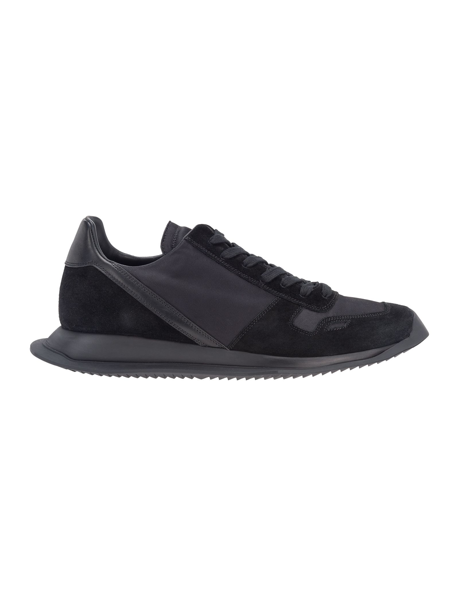 Rick Owens Suedes OLIC LACE UP RUNNER