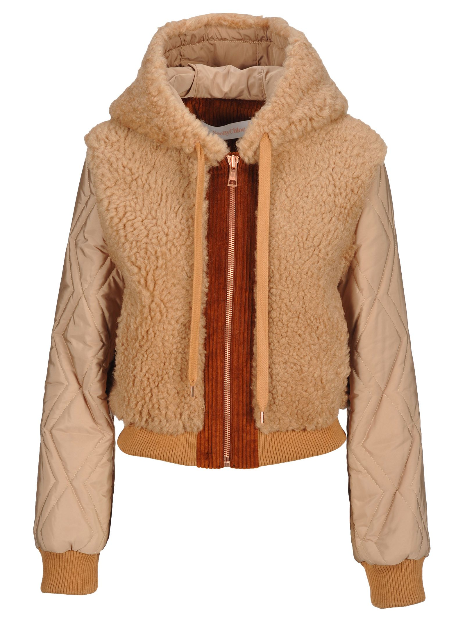 See By Chloe' Bomber Sherling, Tan