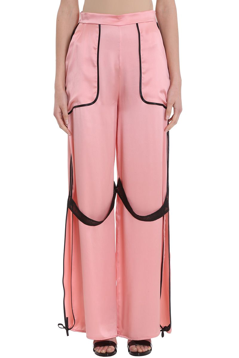 giacobino -  Pink Silk Trousers